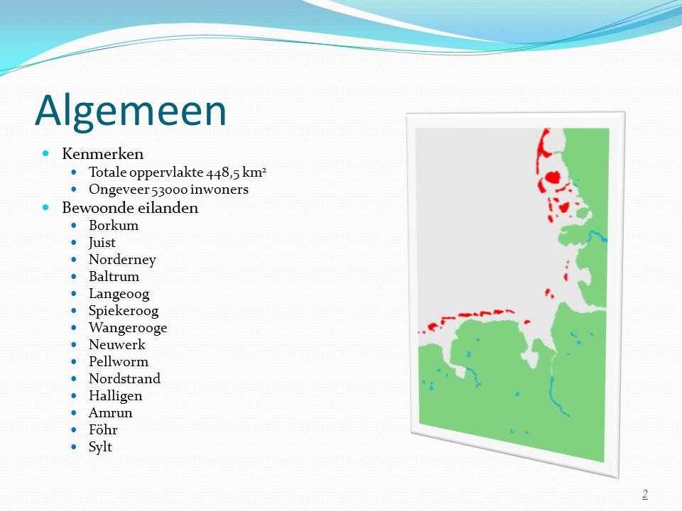Algemeen Kenmerken Bewoonde eilanden Totale oppervlakte 448,5 km2