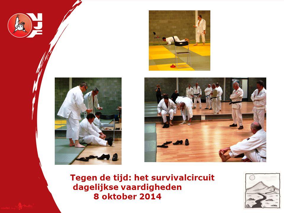 Tegen de tijd: het survivalcircuit dagelijkse vaardigheden 8 oktober 2014