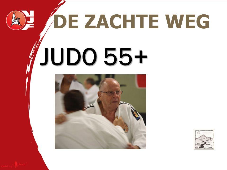JUDO 55+ DE ZACHTE WEG Raf Tits, 6de Dan Rapport Scheerder