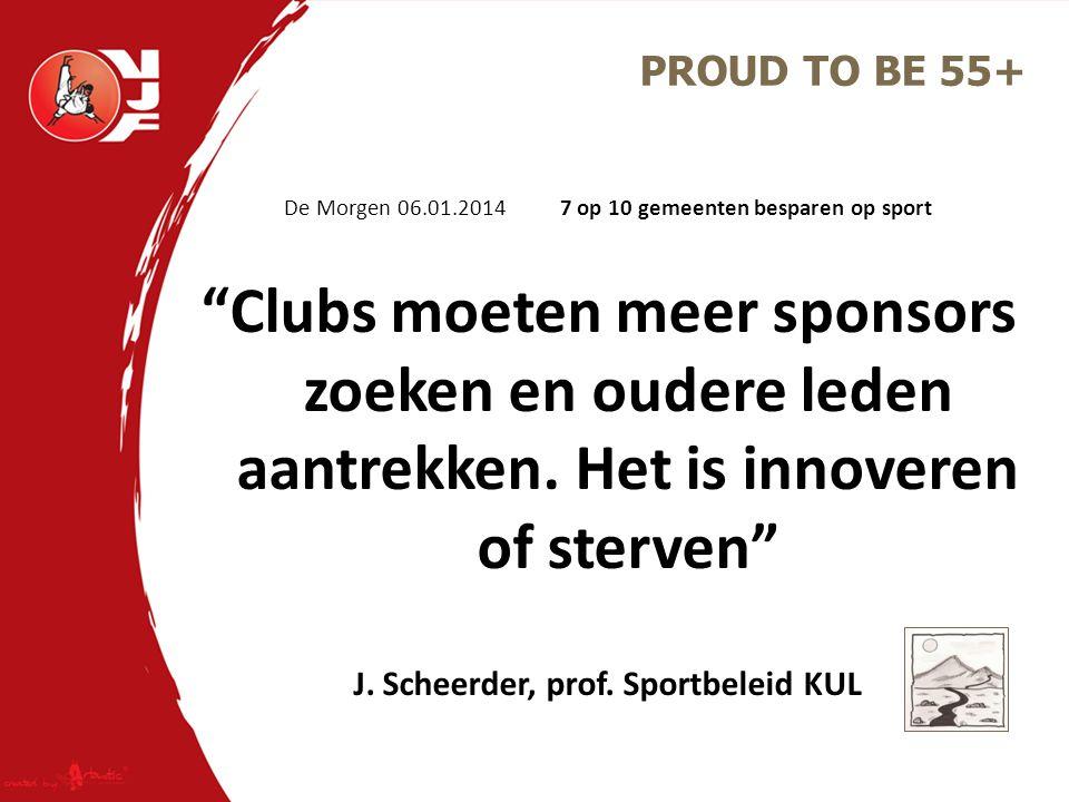 J. Scheerder, prof. Sportbeleid KUL