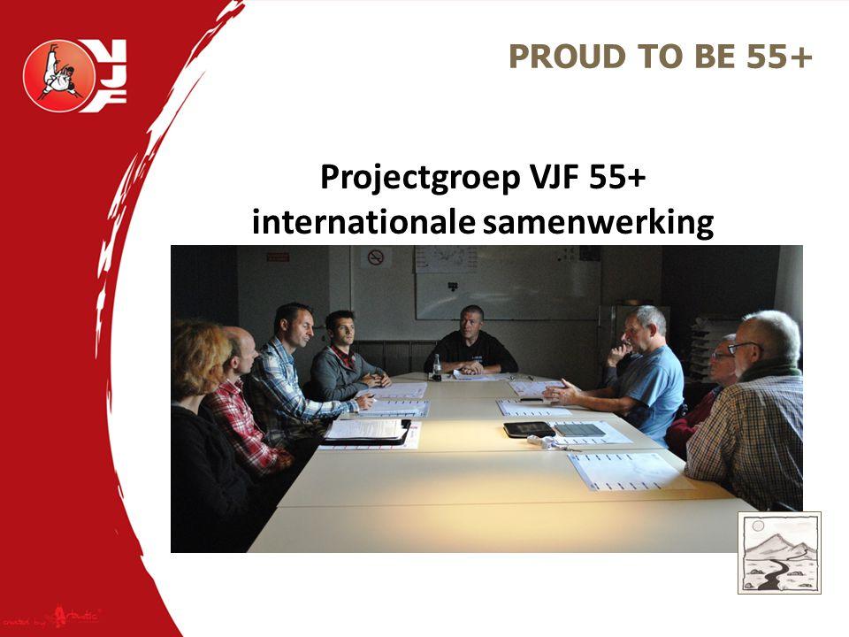 Projectgroep VJF 55+ internationale samenwerking