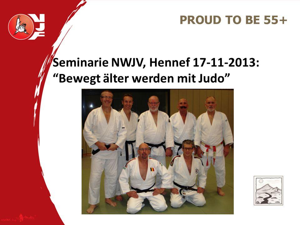 Seminarie NWJV, Hennef 17-11-2013: Bewegt älter werden mit Judo