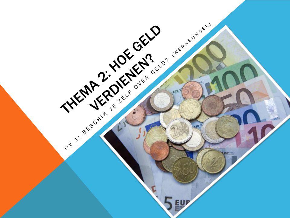 Thema 2: Hoe geld verdienen