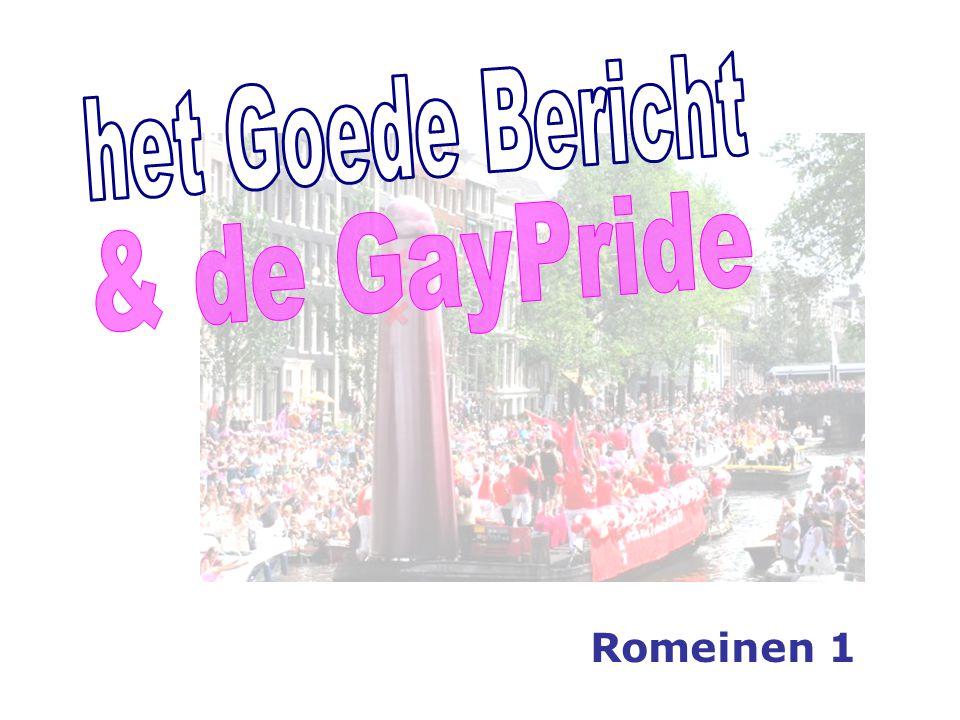 het Goede Bericht & de GayPride Romeinen 1