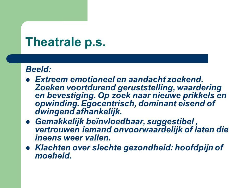 Theatrale p.s. Beeld: