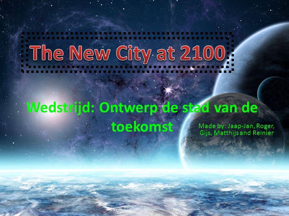 Wedstrijd: Ontwerp de stad van de toekomst
