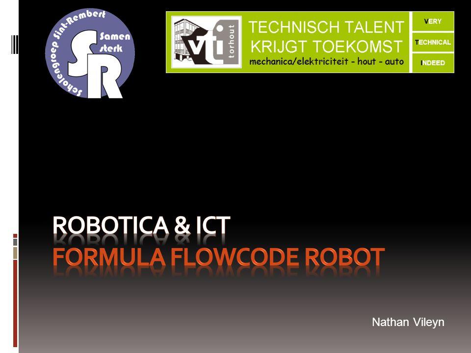 Robotica & ICT Formula Flowcode Robot