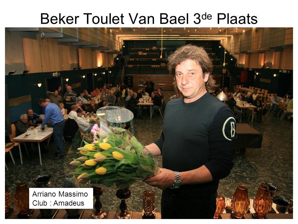 Beker Toulet Van Bael 3de Plaats
