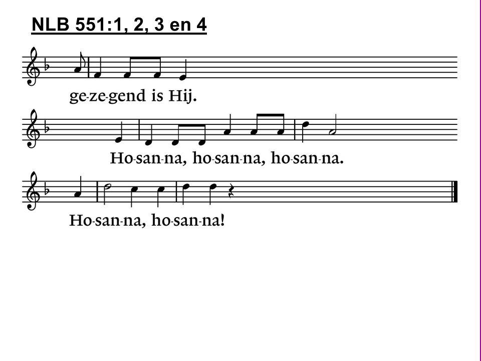 NLB 551:1, 2, 3 en 4