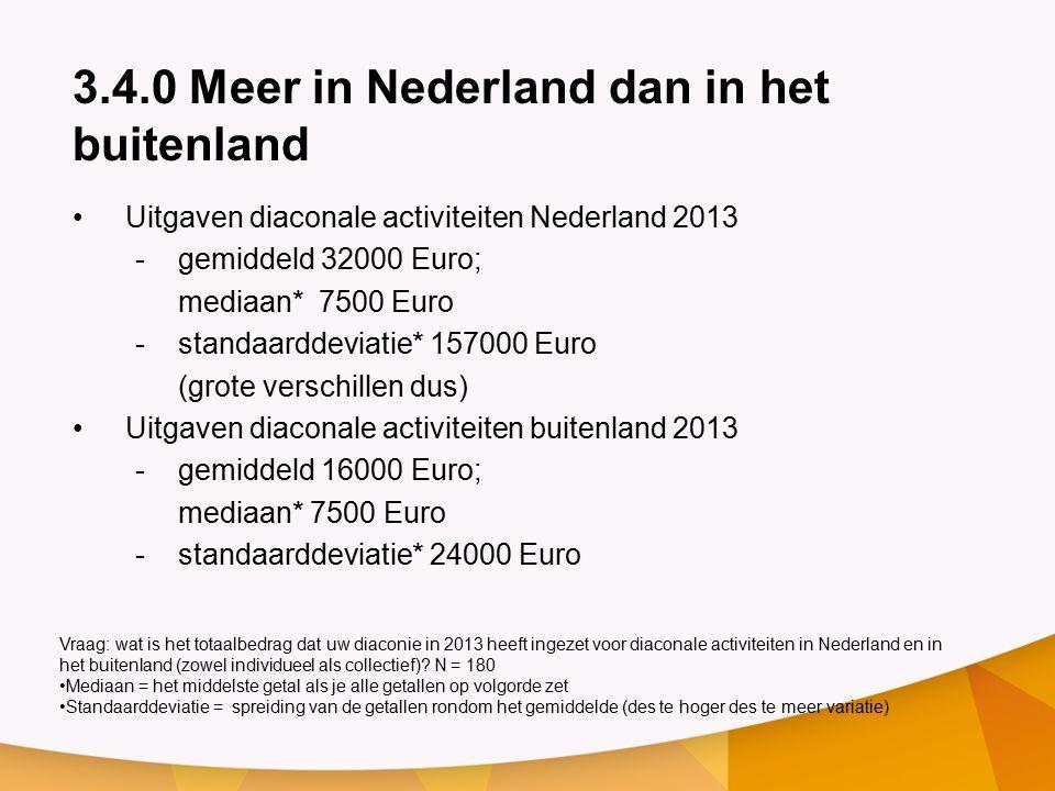 3.4.0 Meer in Nederland dan in het buitenland