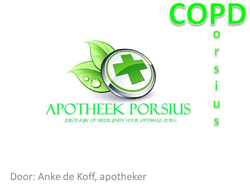 Door: Anke de Koff, apotheker