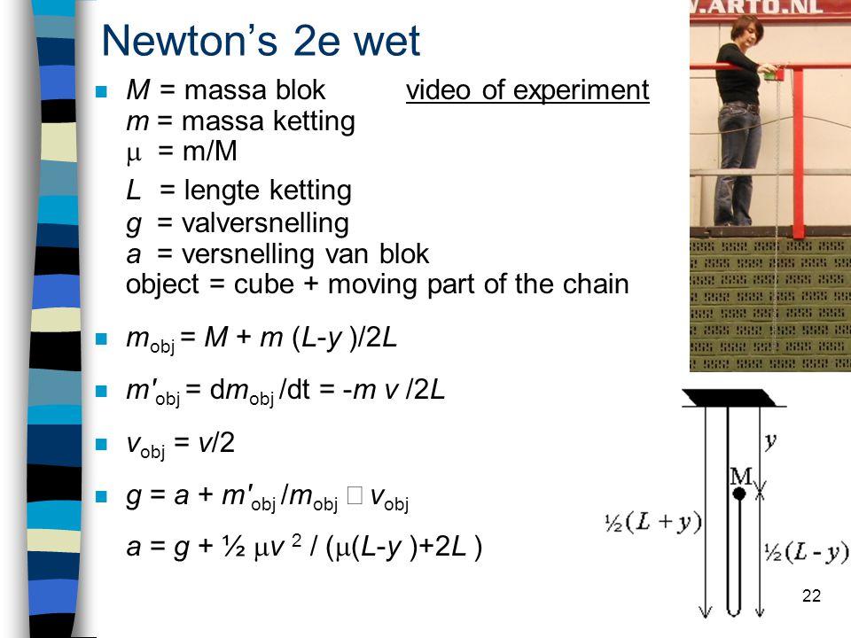 Newton's 2e wet