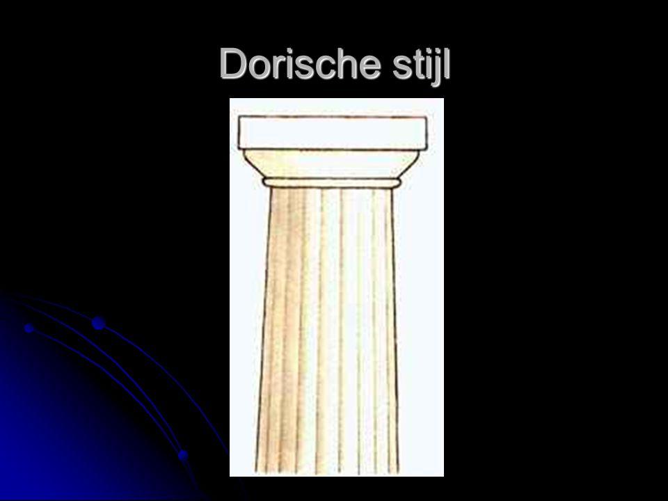 Dorische stijl
