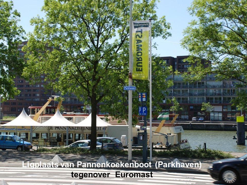 Ligplaats van Pannenkoekenboot (Parkhaven)