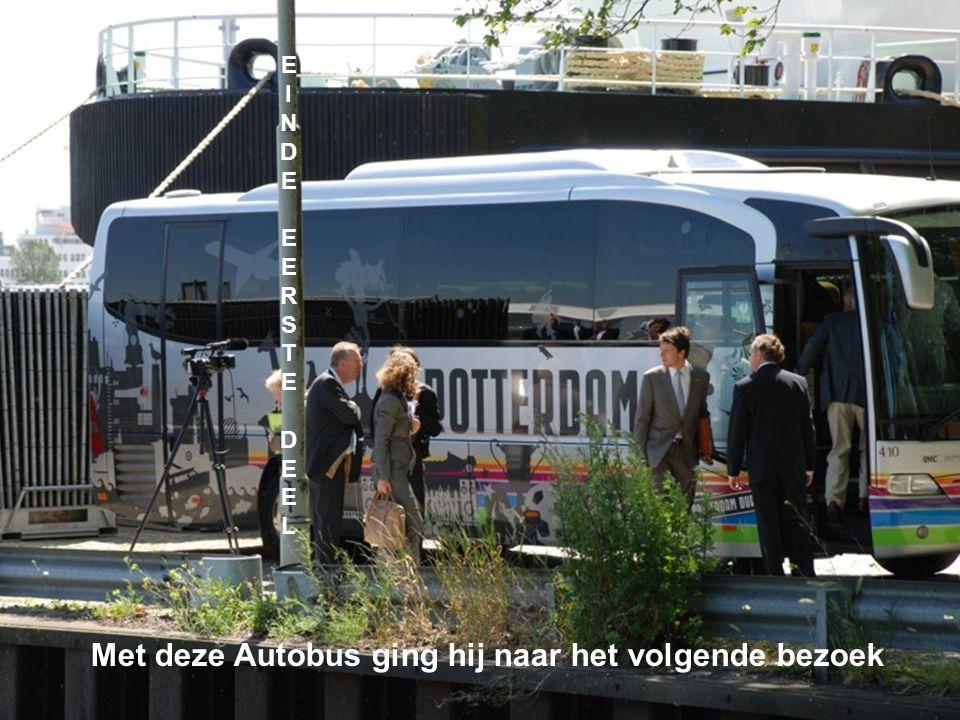 Met deze Autobus ging hij naar het volgende bezoek