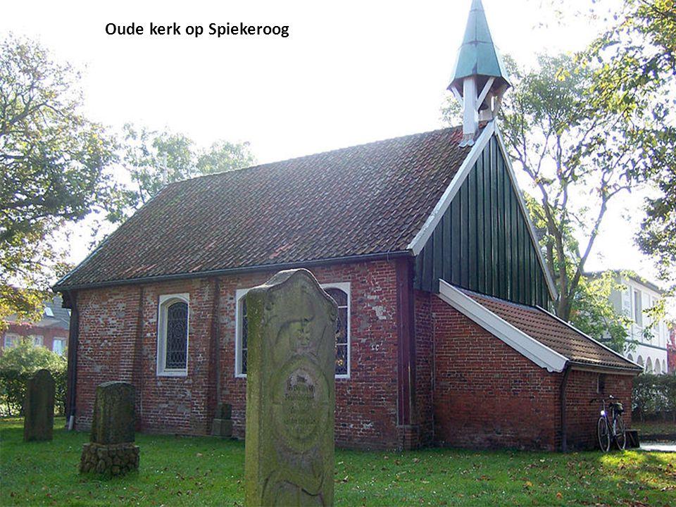 Oude kerk op Spiekeroog