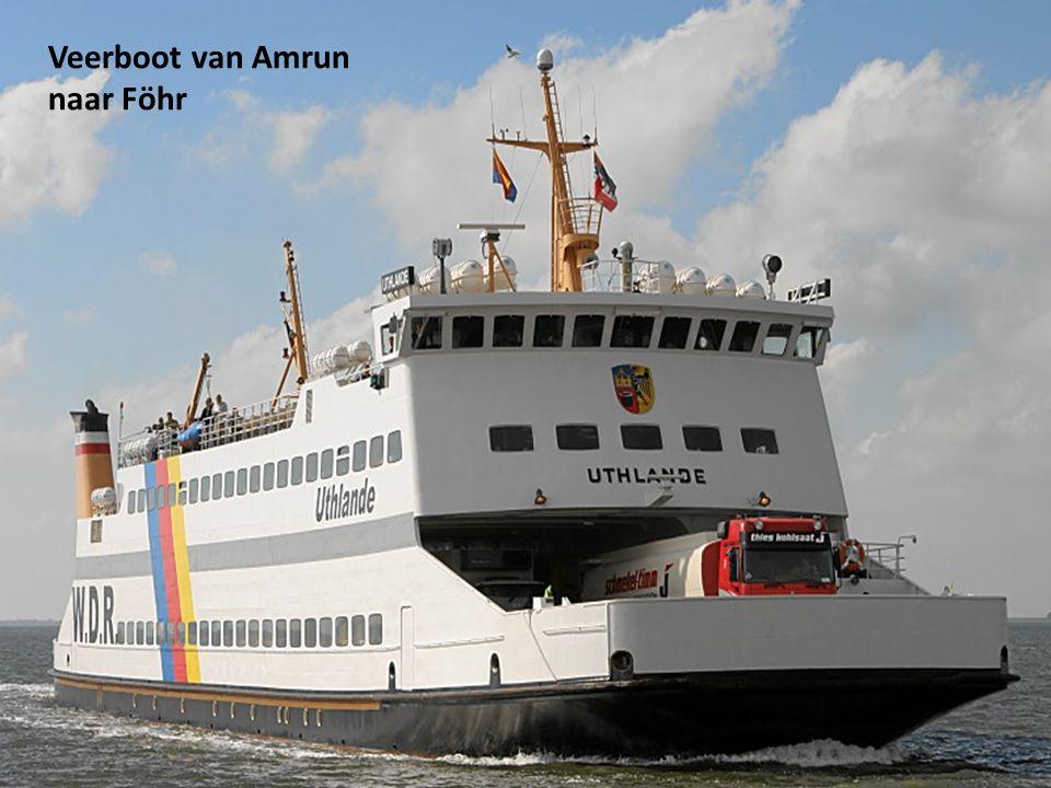Veerboot van Amrun naar Föhr