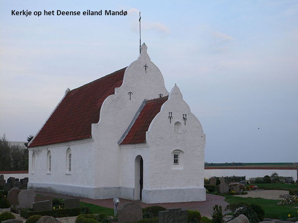 Kerkje op het Deense eiland Mandø