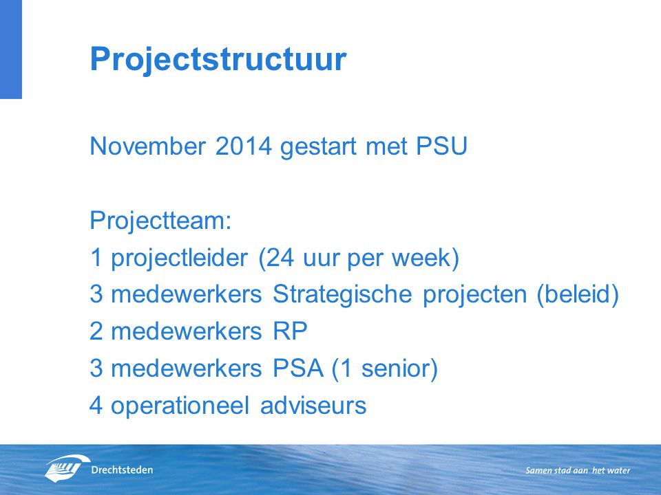 Projectstructuur