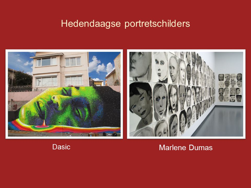 Hedendaagse portretschilders