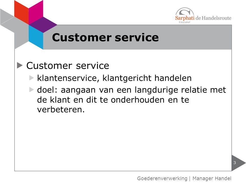 Customer service Customer service