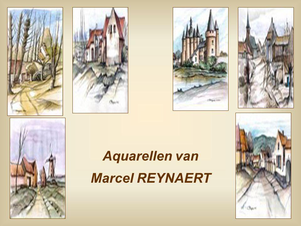 Aquarellen van Marcel REYNAERT