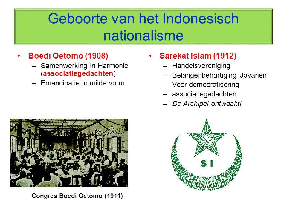 Geboorte van het Indonesisch nationalisme