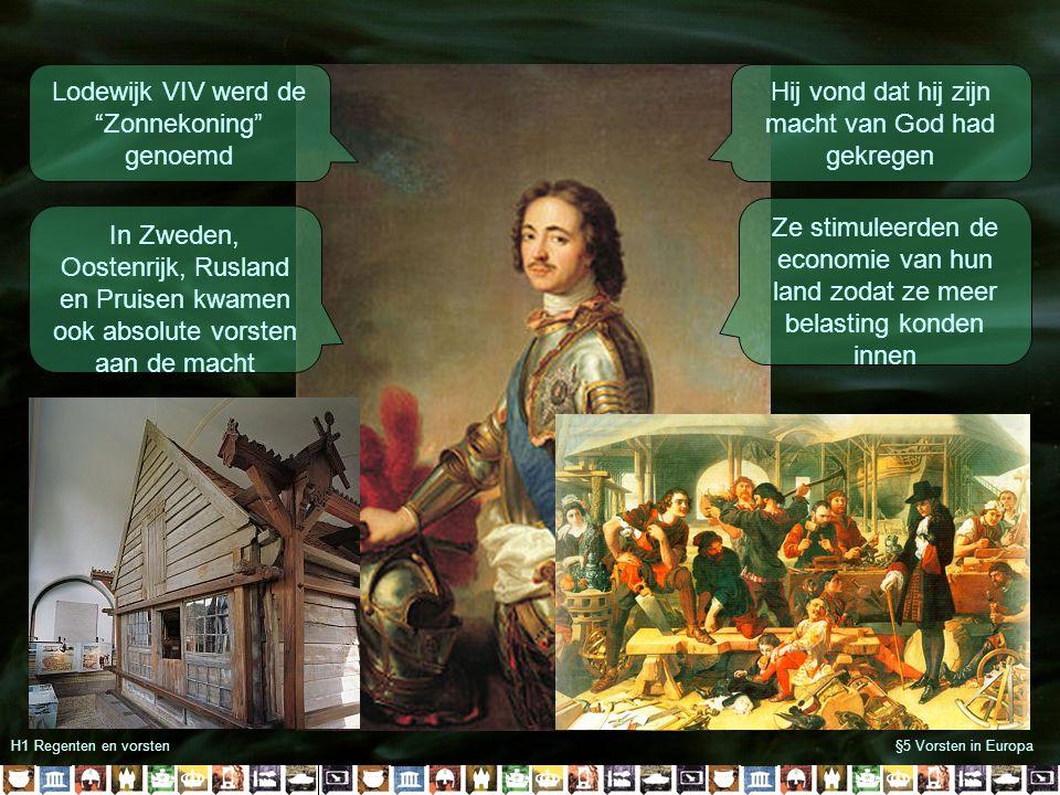 Lodewijk VIV werd de Zonnekoning genoemd