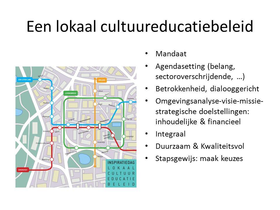 Een lokaal cultuureducatiebeleid