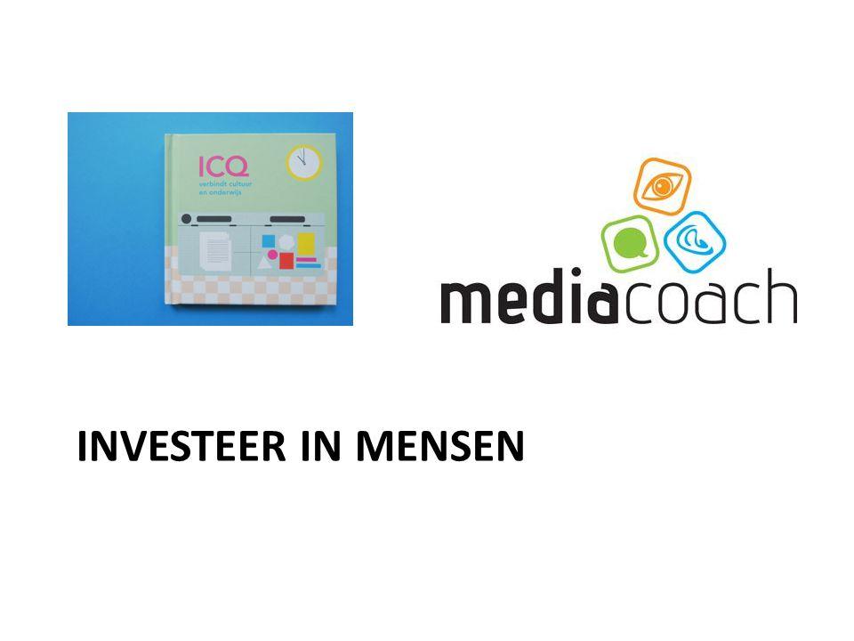 INVESTEER IN MENSEN ICQ: een gezamenlijk competentie- en visievormingstraject voor mensen uit lokale onderwijs- en cultuurveld.
