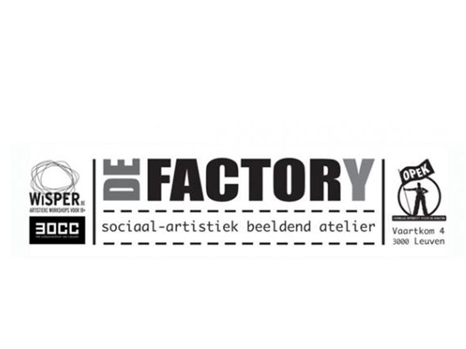 De FactorY sociaal-artistiek atelier.
