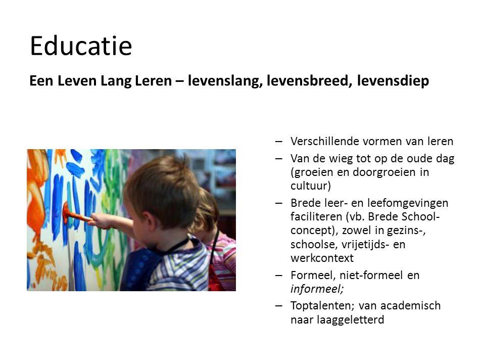 Educatie Een Leven Lang Leren – levenslang, levensbreed, levensdiep