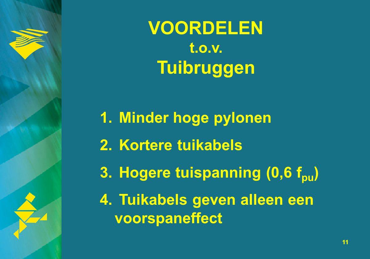 VOORDELEN t.o.v. Tuibruggen