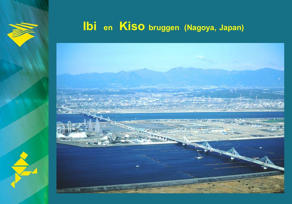 Ibi en Kiso bruggen (Nagoya, Japan)