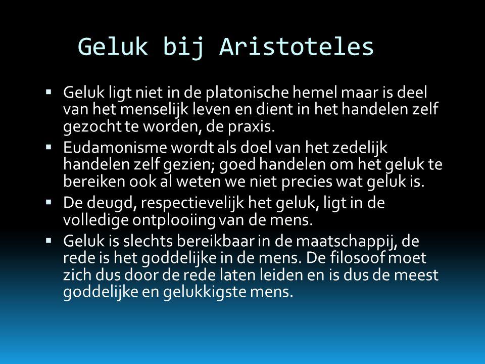 Geluk bij Aristoteles