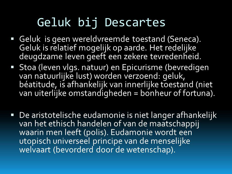 Geluk bij Descartes