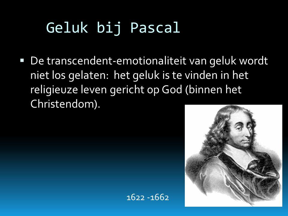 Geluk bij Pascal