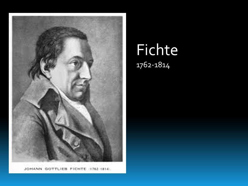 Fichte 1762-1814