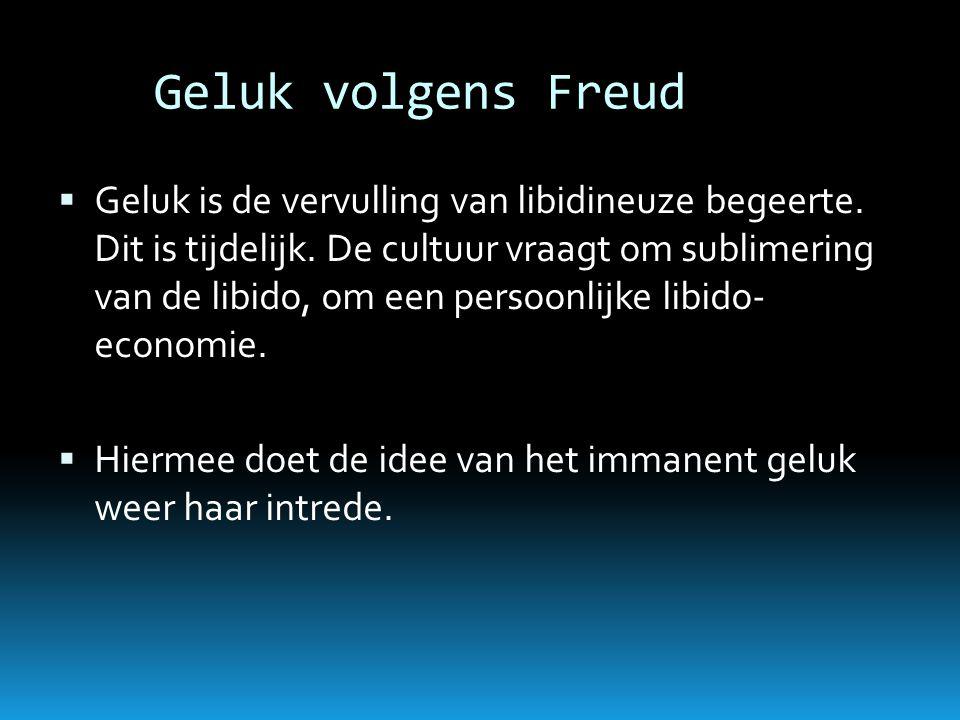 Geluk volgens Freud