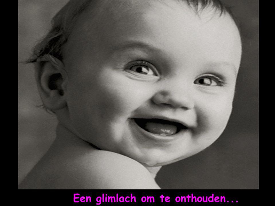 Een glimlach om te onthouden...