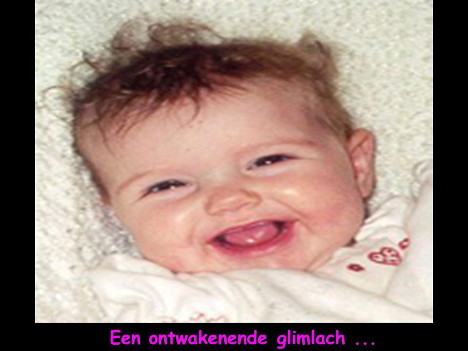 Een ontwakenende glimlach ...