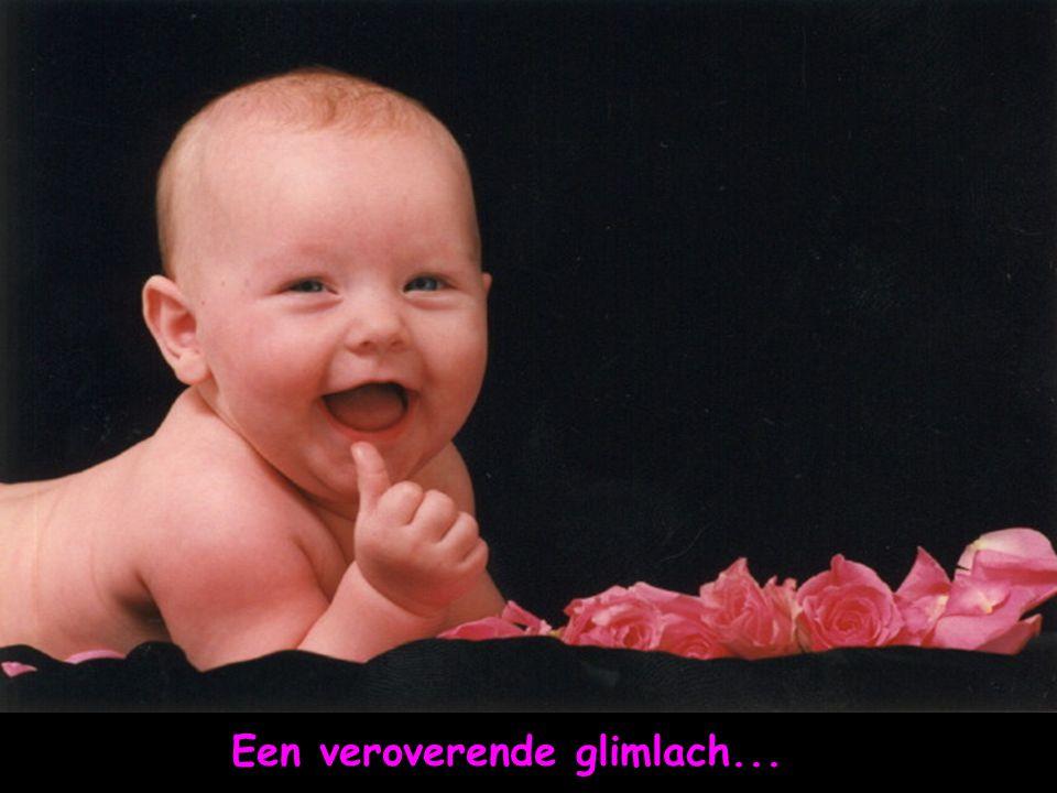 Een veroverende glimlach...