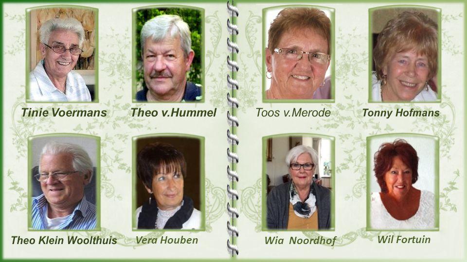 Tinie Voermans Theo v.Hummel Toos v.Merode Vera Houben Wia Noordhof