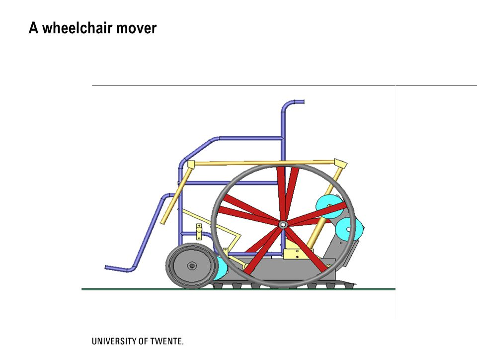 A wheelchair mover