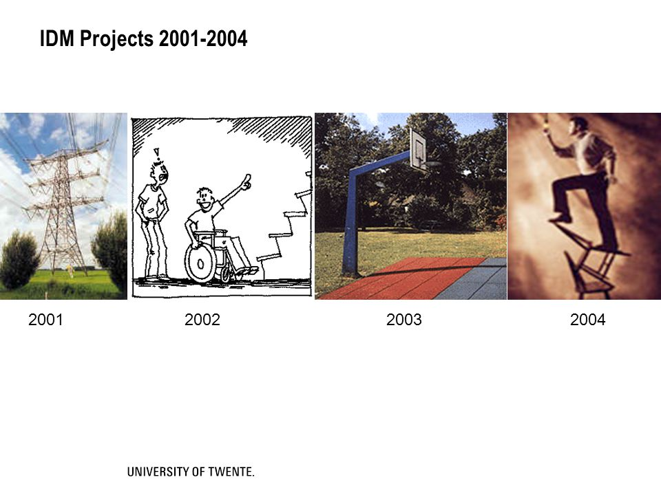 IDM Projects 2001-2004 2001 2002 2003 2004.
