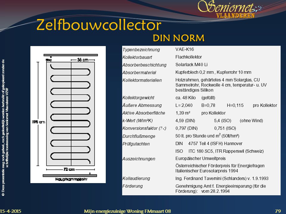 Zelfbouwcollector DIN NORM 12-4-2017