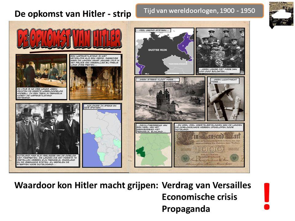 De opkomst van Hitler - strip