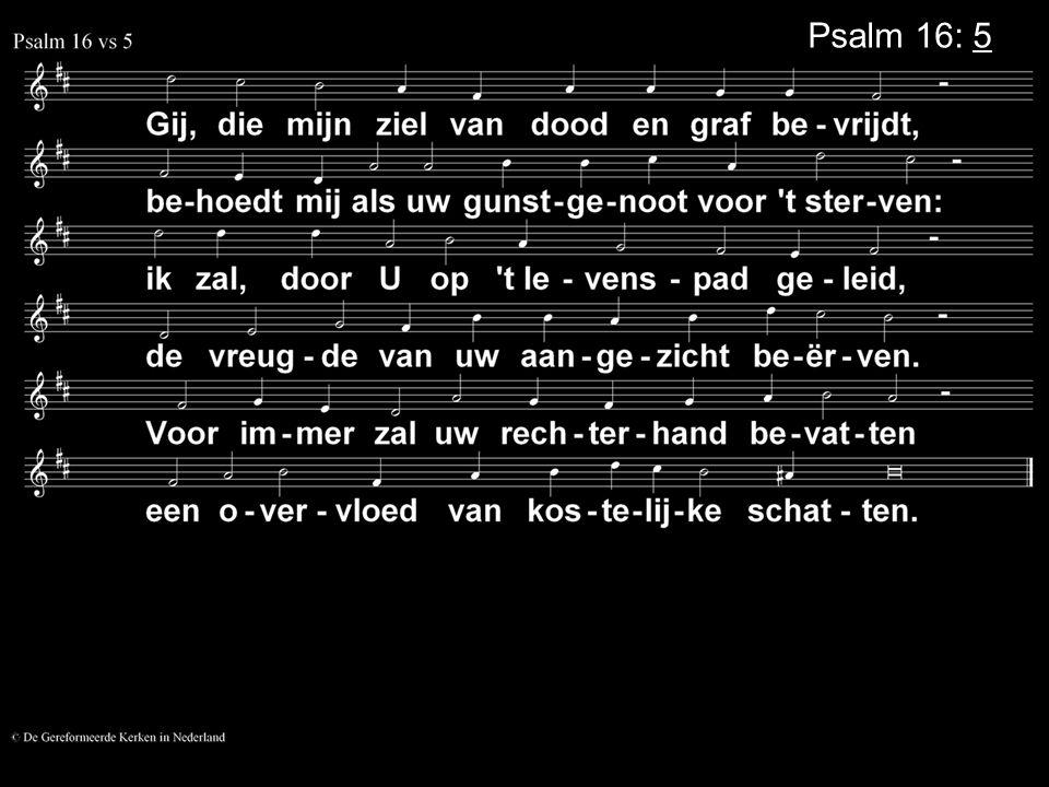 Psalm 16: 5