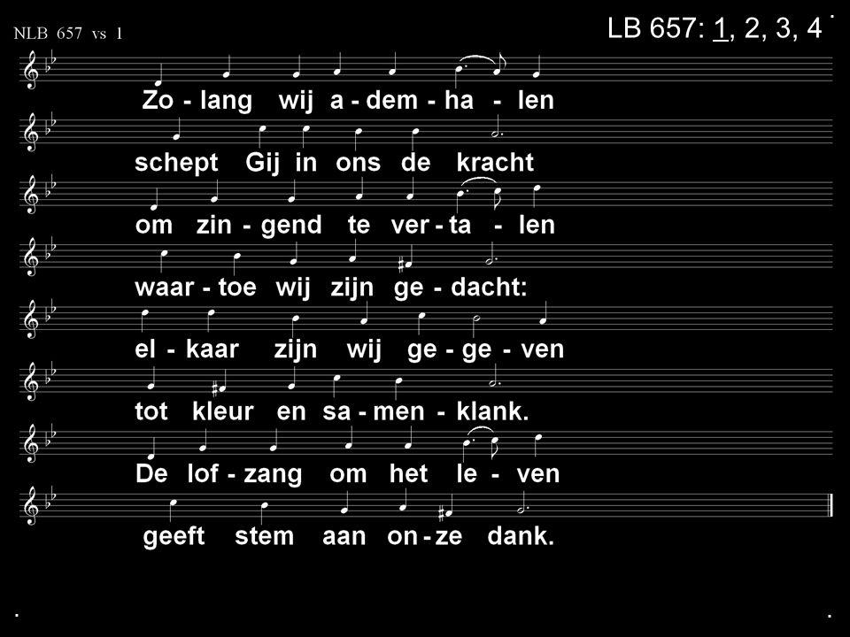 . LB 657: 1, 2, 3, 4 . .