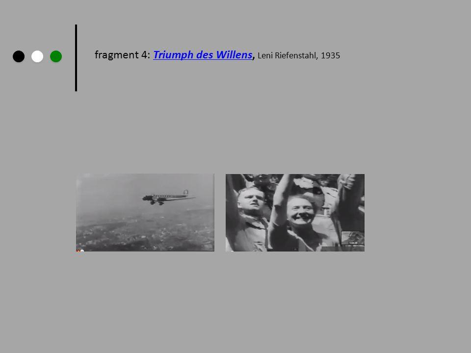 fragment 4: Triumph des Willens, Leni Riefenstahl, 1935